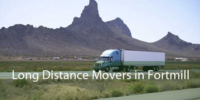 Long Distance Movers in Fortmill